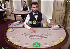 Live Blackjack Evolution Gaming
